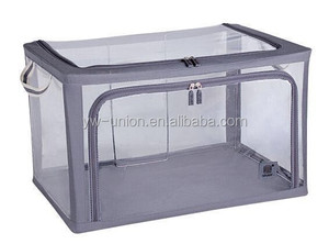 transparent storage box offered by yiwu , Square shape boxs for storage