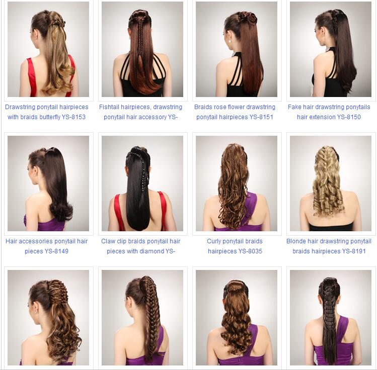 Streak Hair Color Ponytail Curly Hair Piecesclaw Clip In Curly Hair