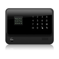 Latest products G90b easy control WIFI wireless smart manual GSM home burglar alarm security system