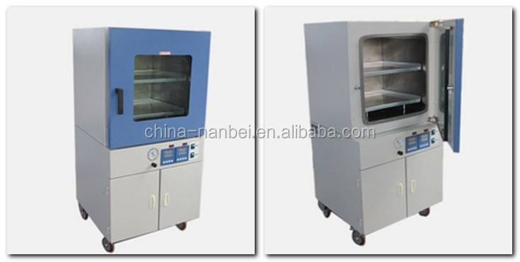 High precision temperature controlled laboratory vacuum drying oven