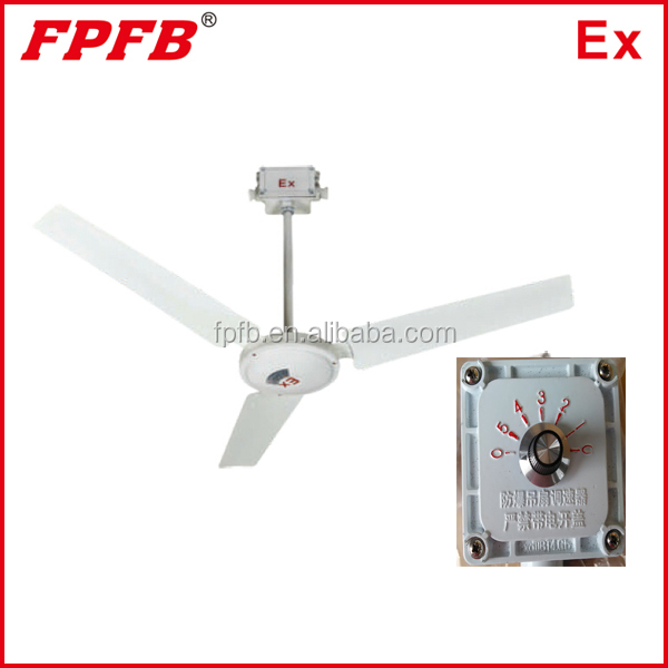 BAS51 Adjustable 5-speed 80W explosion-proof fan ceiling fan
