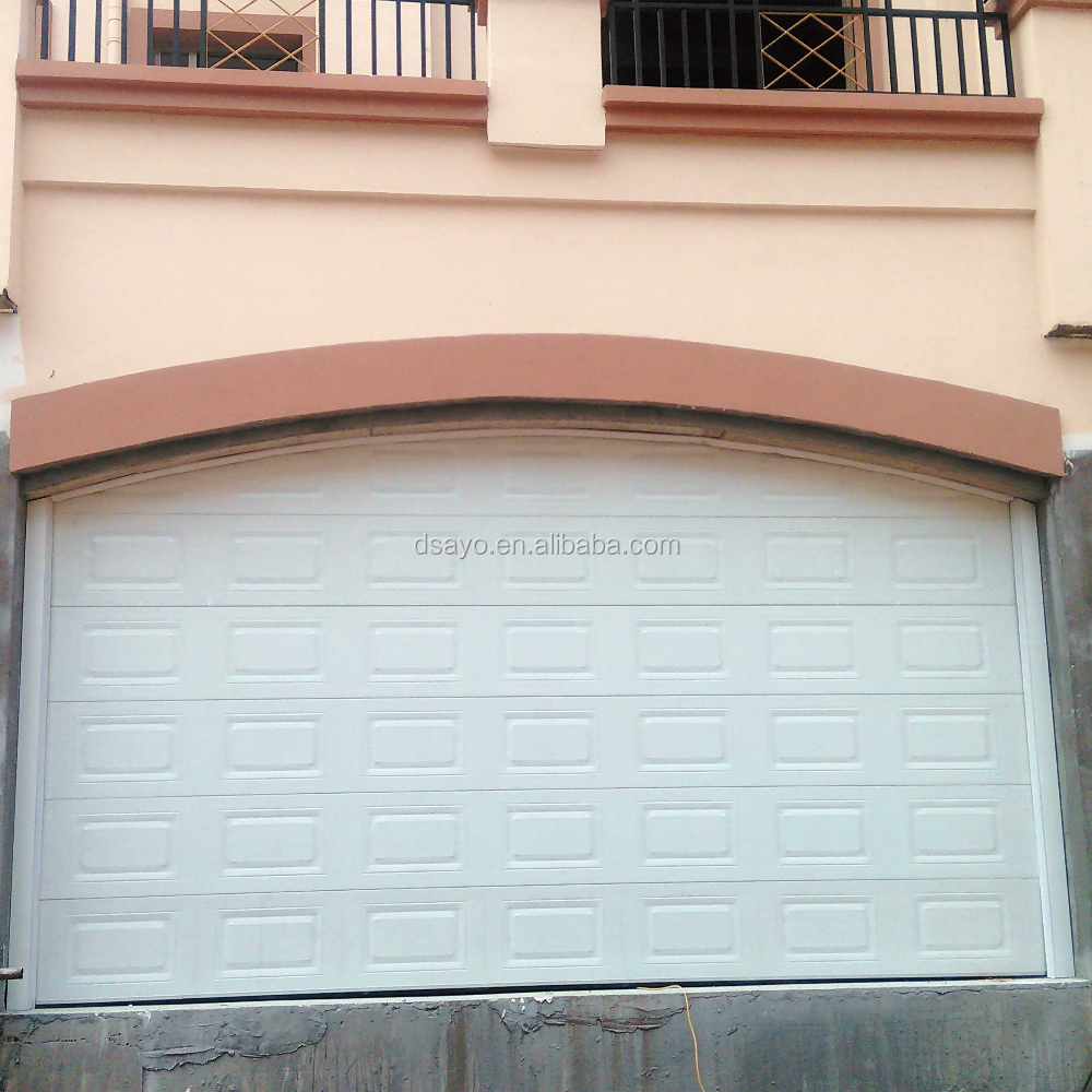 Modern Steel Sectional Automatic Garage Doors #dso001-1