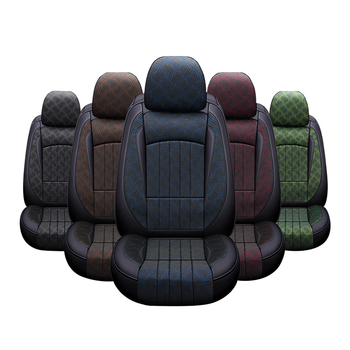 ZT-P-229 new style universal four seasons printing leather car seat cover