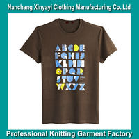 Latest 100% Mens Casual Cotton Shirts Brand Names / Clothes Men Korean Fashion Clothing /Cheap China Print Custom Cotton T-shirt