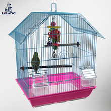 Foldable Epoxy Coated Wire Bird Cage