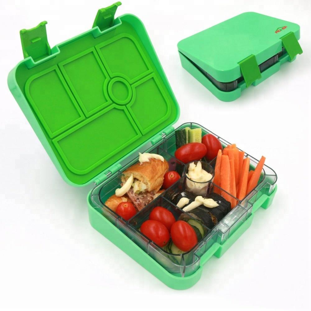 Großhandel dicht unterteilt bento lunch box hersteller custom druck bento box