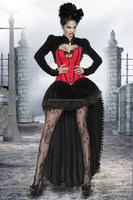 Sexy Spooky Woman Vampire Costume for Halloween, Cosplay or Carnival