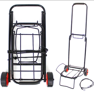 Small Cart Portable Shopping Cart Iron Trolley