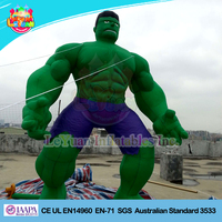 Inflatable muscle man costume/inflatable green man/ hulk