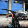 MY DINO-Q042 Animatronic Western Dragon Rides for Children Playground Equipment