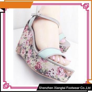 Fancy New Latest Design Women Wedge Sandals Platform Wedge Sandals ...