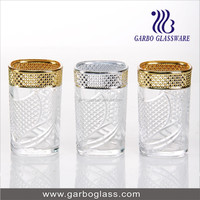 Top Month Gold Plated Glass Tumbler/Water Glass/Drink Glass/Glassware