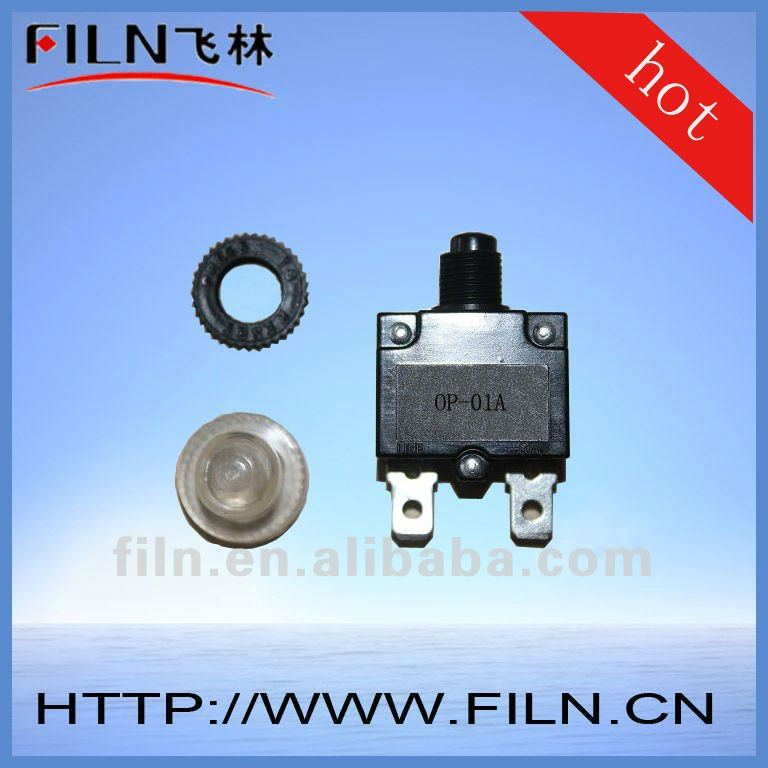 compressor thermal overload protector switch
