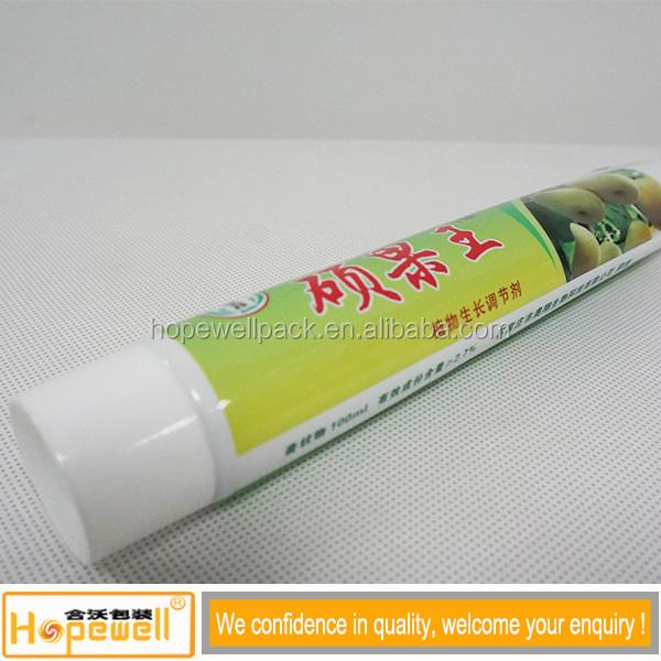 Guangzhou factory pe laminated toothpaste tube packaging material export