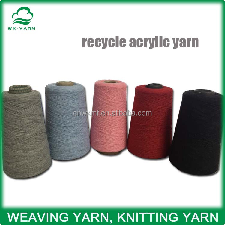 NM15/1 recycle acrylic blended yarn
