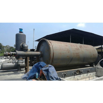 Turn Waste To Energy Scrap Tyre Pyrolysis Plant To Fuel Diesel Oil