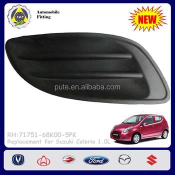 Car Accessories 71751-68k00-5pk Rh Front Fog Lamp Cover For Suzuki Celerio - Buy Front Fog Lamp