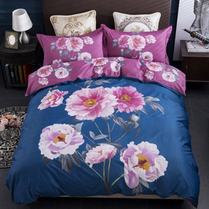 Top Quality Cotton Bedsheets Flower Printed