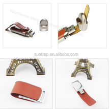 100% Genuine 128GB High-end USB 3.0 Flash Pen Drive leather Storage U Disk Memory USB Drive Memory Stick