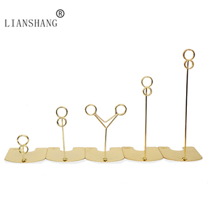 Supermarket metal paper clip,clip with base,clamp clip for cake bread