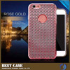 Low Price China Mobile Phone Electroplating Tpu Phone Cases For lg g4 back cover