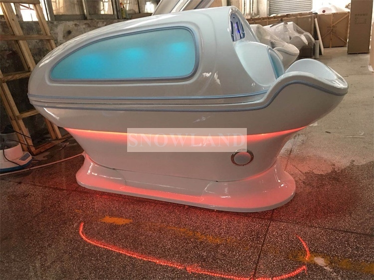 Multifunction 3 in 1 LED Light Spa Capsule + Hydrotherapy Water Massage + Wet Steam Sauna Chamber