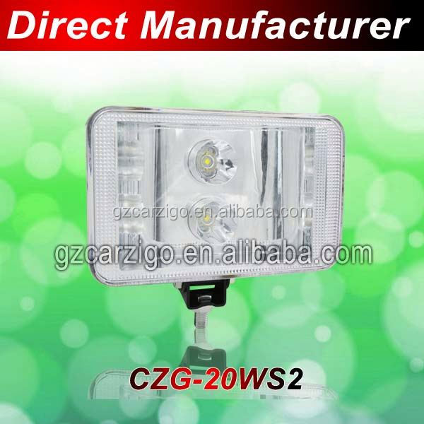Excavator accessories Minivan Canton Fair new/hot product 7000K-10000K cool white auto led work light