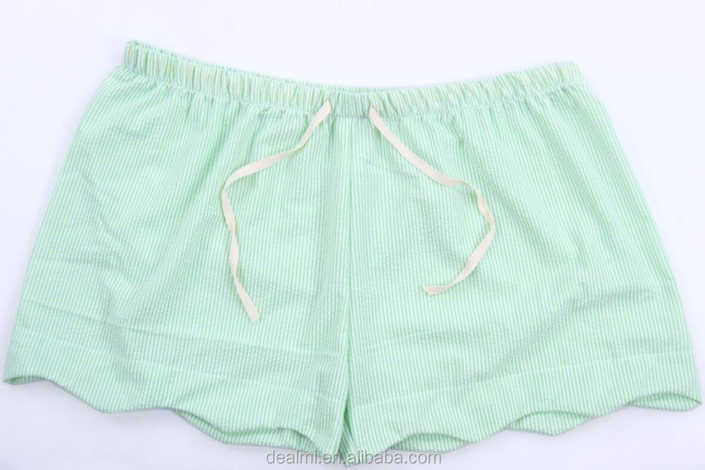 Demi 110 Wholesale hottest Cotton raised grain kids swimming boys beach wear seersucker trunks