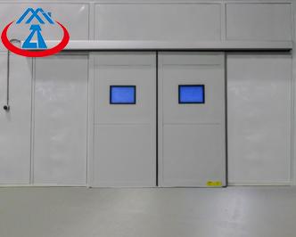 product-Zhongtai-Electric Metal Security DoorIndustrial Sliding Door for Warehouse-img-1