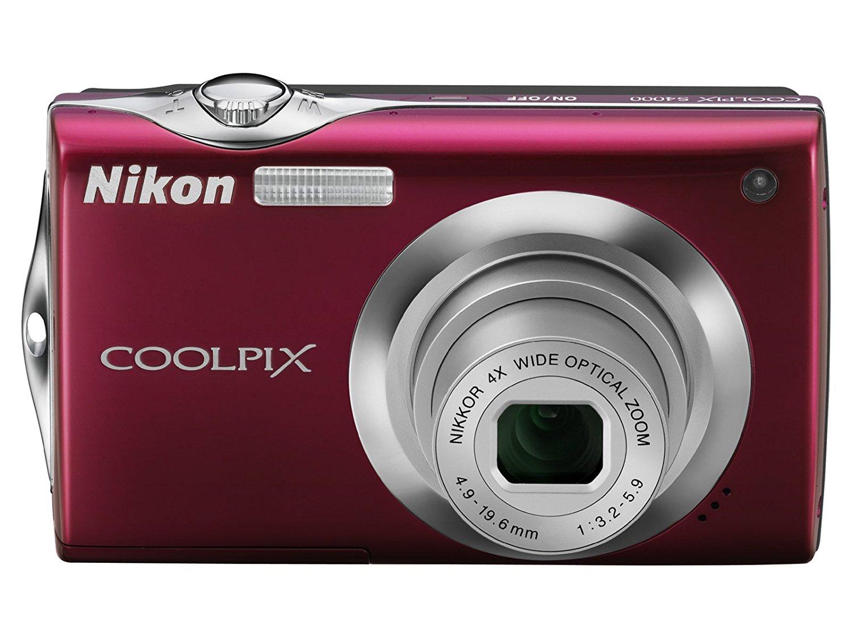 Get Quotations · Nikon digital camera COOLPIX (Coolpix) S4000 1200 million  pixels 4x optical zoom wide angle