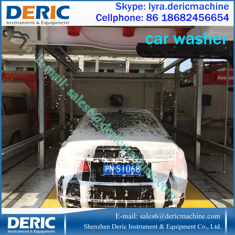 Smart Touchless Car Wash Machine Price With Embedded Dryer