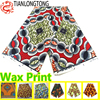 Factory Stock Lots 100% Poly Dutch Wax Print Polyester Fabric