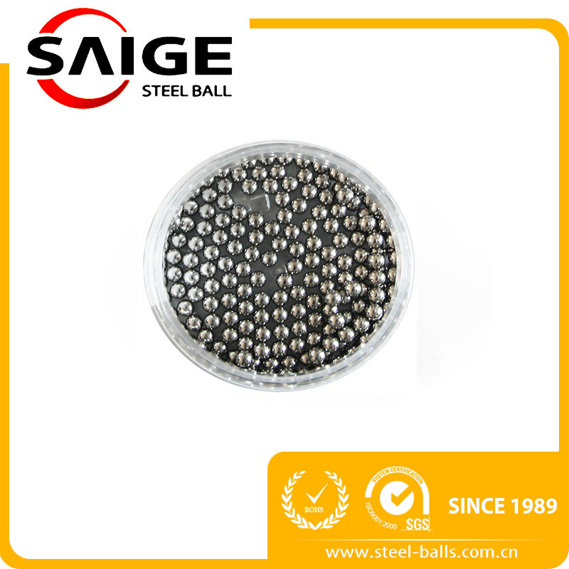 AISI 316 polished 4mm 4.763mm steel balls for aerosol