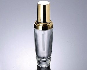 Press the mercury emulsion bottle 50ML clear glass bottle