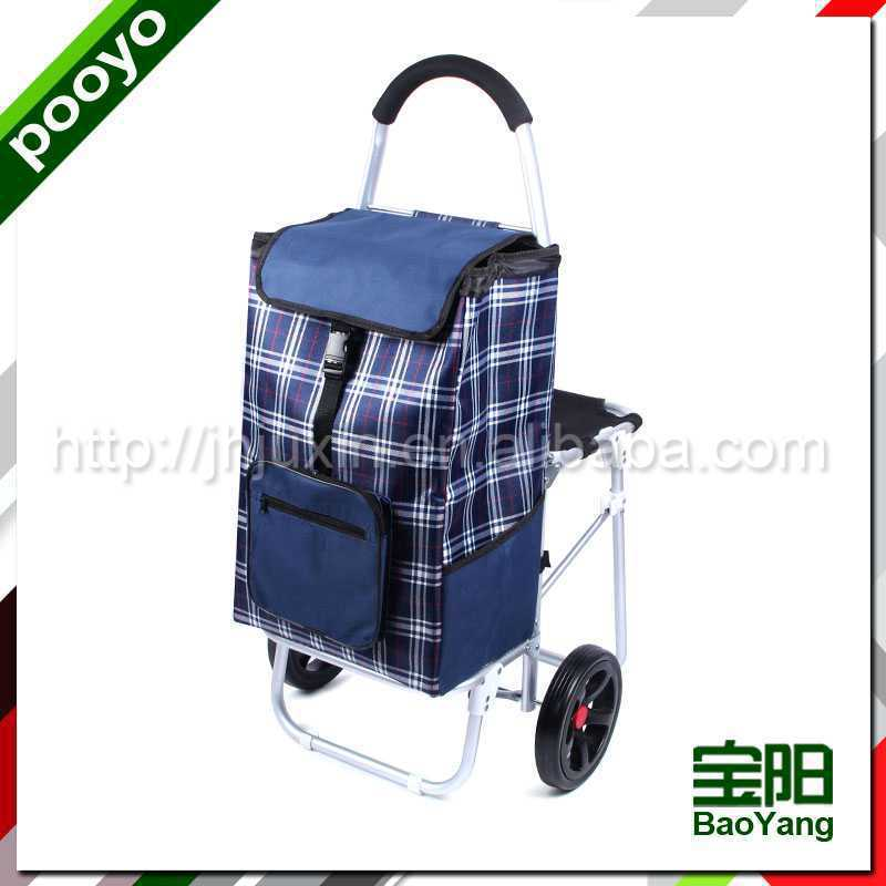 shopping trolley bag wooden toys for children