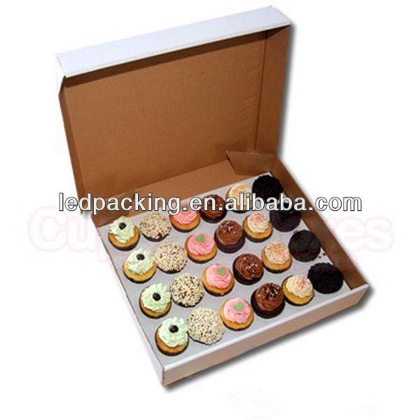Custom Printing Cake Slice Carton Boxes Packaging