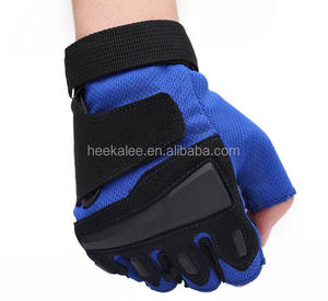 New Sports Workout Training Weight Lifting Gloves Gym Bodybuilding Fitness Fingerless Gloves with Wrist Support