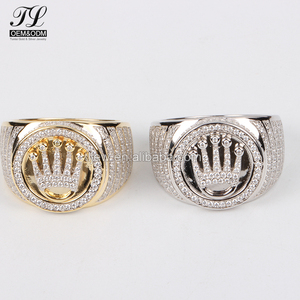 Multi metal optional 925 silver cleaning stone ring+925 italian silver ring jewelry mens