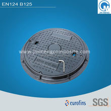 Frp meter box manhole cover and frame with lifter