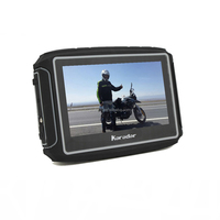 4.3-Inch Portable Touchscreen Motorcycle Car GPS Navigation Device - Lifetime Map Updates