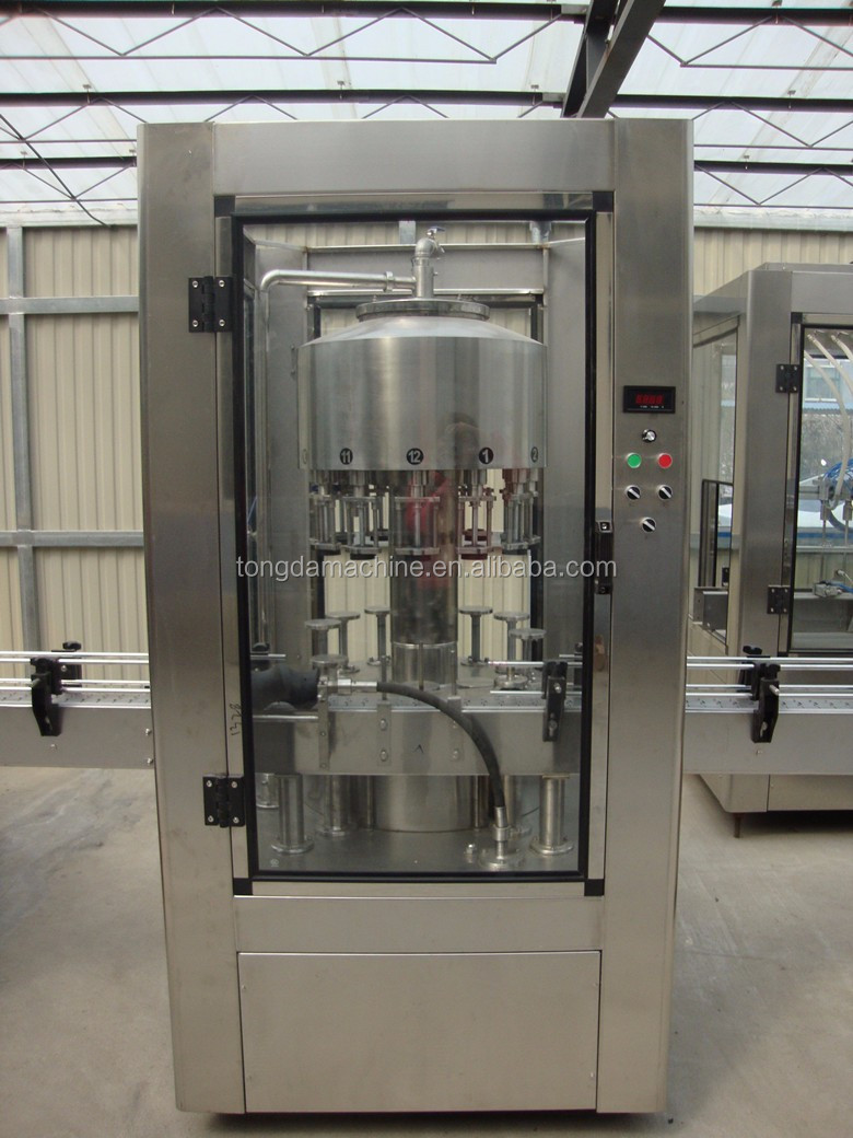 rotary type fully automatic small wine/milk/liquor bottle filling machine
