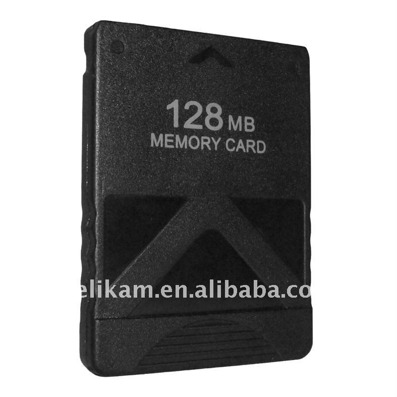 Game memory card for Sony playstation2 PS2 128MB memory card for PS2 128MB memory card
