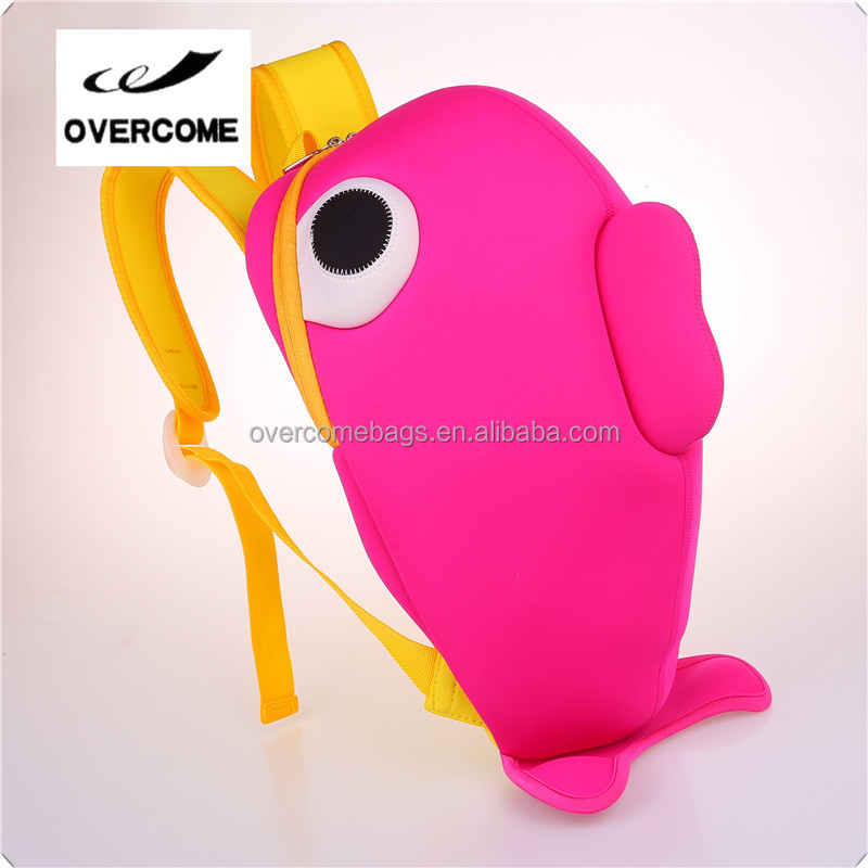 Children backpack 2016 new style whale bags