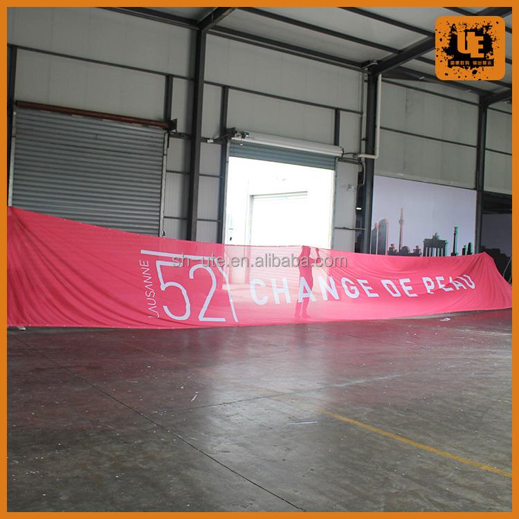 CUSTOM FABRIC//CLOTH MESH FENCE 2/' X 2/' Feet BANNER SIGN FLAG 260 GSM NO FLEX