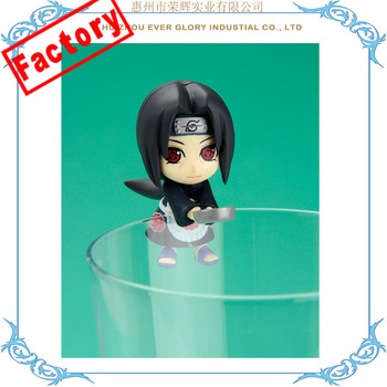 Cup Figurine OEM Mini PVC Figurine for Cup Japanese Figurine