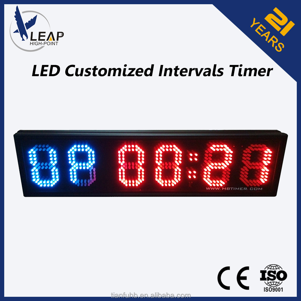 Countdown up outdoor crossfit led digital timer