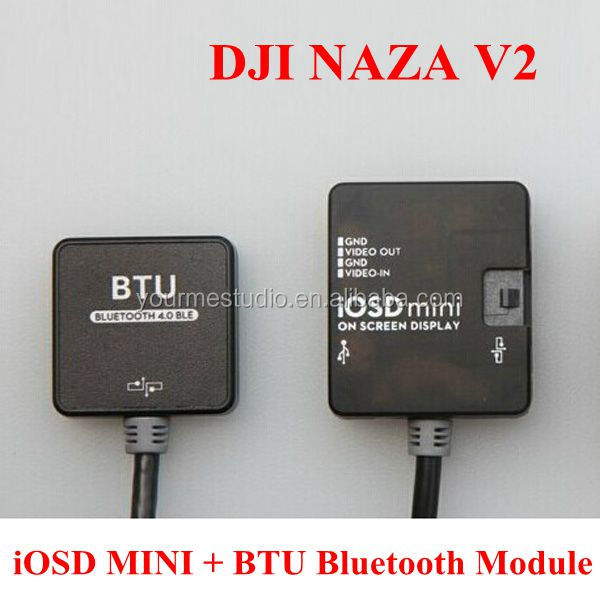 DJI NAZA V2 iOSD MINI BTU Bluetooth dji naza v2 iosd mini btu bluetooth module buy charger iosd mini wiring diagram at virtualis.co
