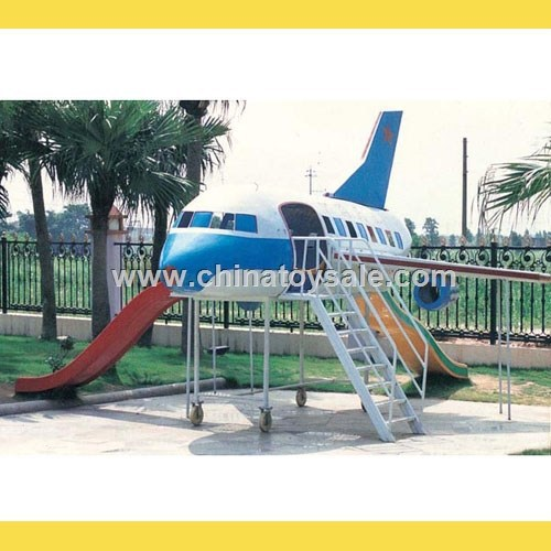 Hotest Design airplane playground equipment