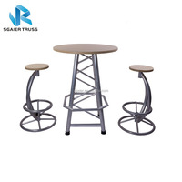 On Hot Sale Bar Furniture of Truss Bar Table and Bar Chair for Outdoor