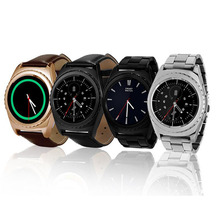 2016 New NO.1 G4 MTK6261A 1.2 Inch Round IPS Screen Smart Watch Support Anti-lost Health Monitor Bluetooth 3.0 Pedomete 3D touch